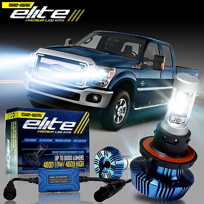 Elite G7 LED Headlight Conversion Kit Bulbs for 05 to 2016 Ford F Super Duty