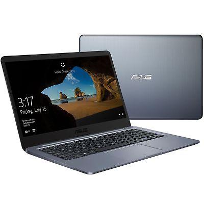 "New Asus 14"" Thin & Light Laptop/Intel Dual-core/4GB/64GB/Bluetooth/HDMI/Win10"