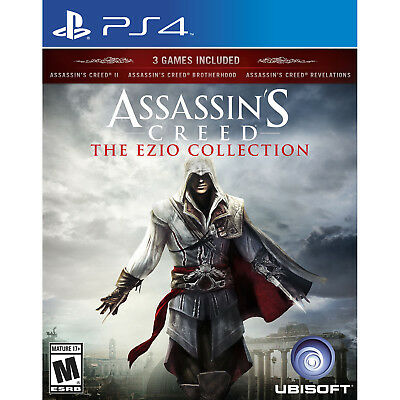 Купить Assassin's Creed: The Ezio Collection PS4 [Brand New]