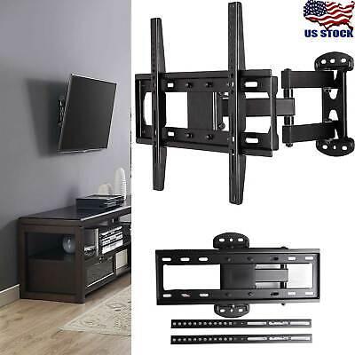 Full Motion TV Wall Mount Bracket Holder Single Stud for 26-55