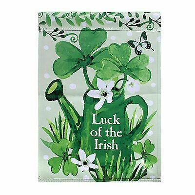The Irish Flag (Luck of The Irish Garden Flag - Double Sided - St. Patrick's Day Flag with)