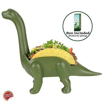 Taco Shell Holder Plate Stand Plastic Dinosaur Premium Kitchen Accessories - Taco Holder Plate