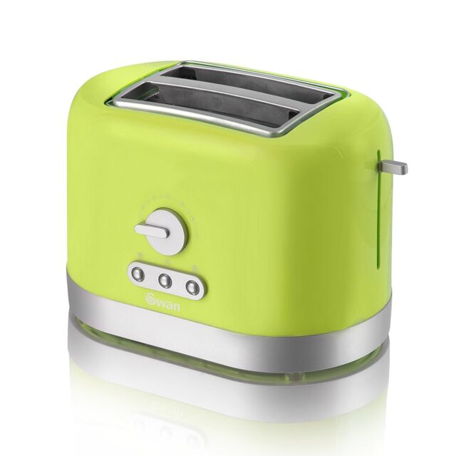 cookworks black stainless steel toaster