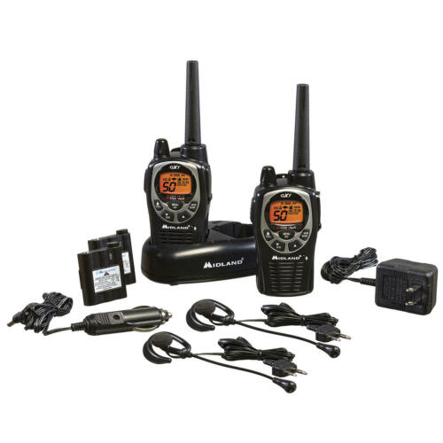 Midland GXT1000 Two-Way Radios (2 pack) New +Free shipping !!!