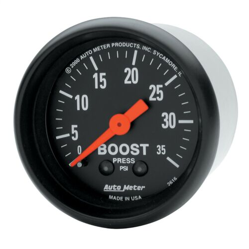 AutoMeter 2616 Z-Series Mechanical Boost Gauge