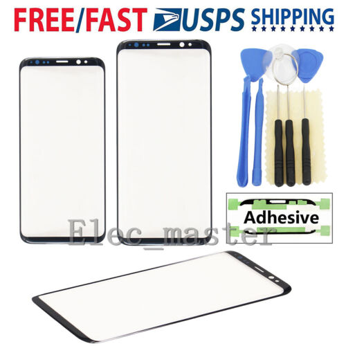 for Samsung Galaxy S8 S8 Plus Original Front Glass Lens Screen Replacement Parts