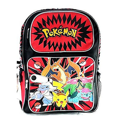 Pokemon Pikachu Backpack 16