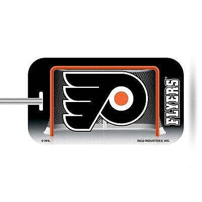 Philadelphia Flyers Plastic Luggage Tag Bag Identification Hockey Flyer Luggage Tag