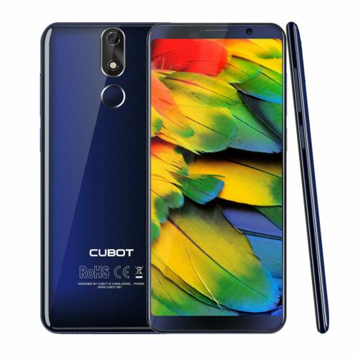 "Cubot POWER 6000mAh 128GB 5.99"" Smartphone Octa-core Android 8.1 20MP Handy Blau"