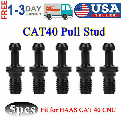 5 Pcs Cat 40 45 Pull Stud Retention Knob Fits Haas Cat 40 Cnc Machine Accessory