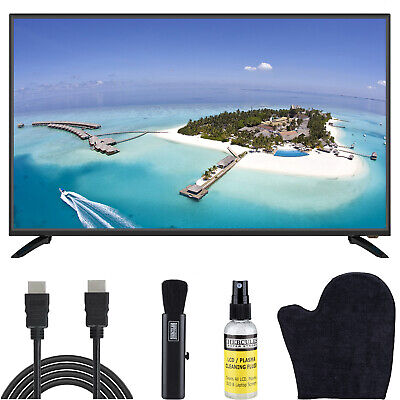 """Sansui S43P28FN 43"""" 1080p FHD DLED Smart TV Built-in HDMI USB Bundle"""