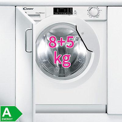 Candy XL Einbau Waschtrockner vollintegriert 8 kg Waschmaschine & 5 kg Trockner