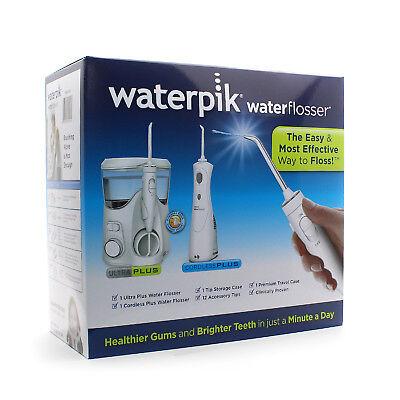 Waterpik Water Flosser Ultra & Cordless + WP-150UK/WP-470UK