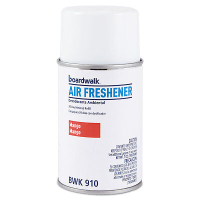 Boardwalk Metered Air Freshener Refill, Mango, 5.3 oz Aeroso