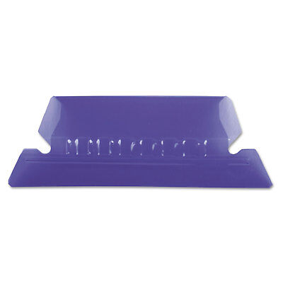 Pendaflex Hanging File Folder Tabs 15 Tab Two Inch Violet Tabwhite Insert 25