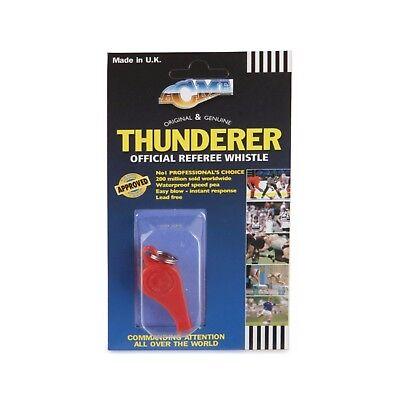 (Acme Plastic Thunderer 660 Whistle with Lanyard Small Orange Dog Whistle)
