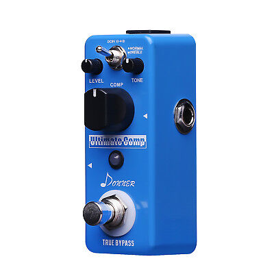 Donner New Compressor Pedal Ultimate Comp Guitar Effect Pedal Fast Ship