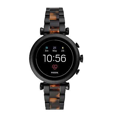 Fossil Sloan HR 4th Gen 40mm Smart Watch Silver Heart Swim GPS NFC WearOS Run