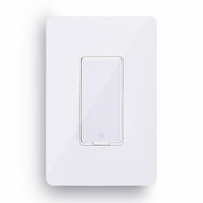 Smart Wi-Fi Wall Light Switch Remote Control Work with Amazon Alexa Google Home