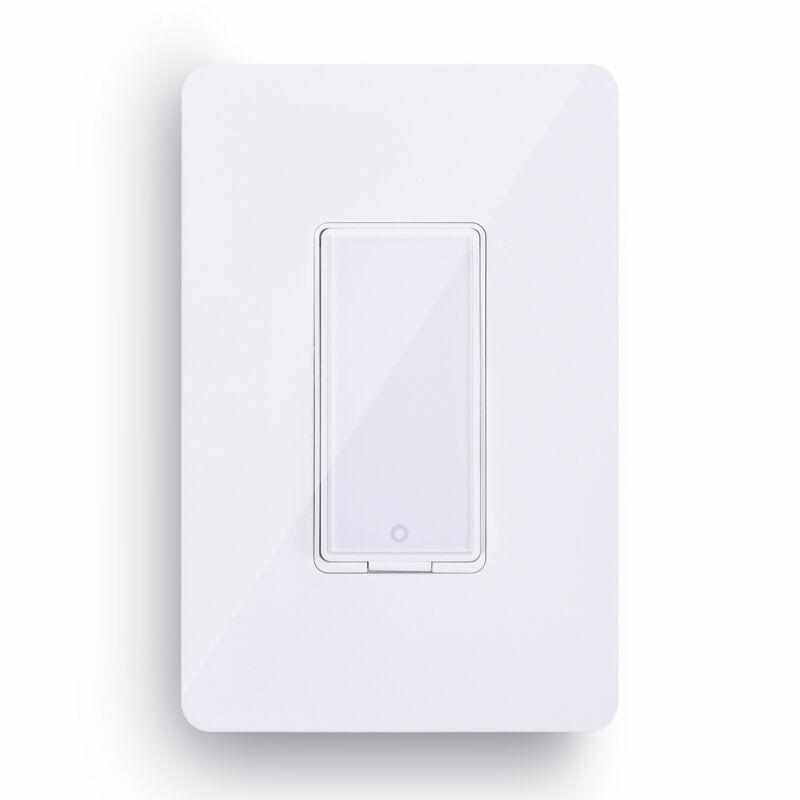 Smart Wi-Fi Wall Light Switch Remote Control Work with Amazon Alexa Google Home