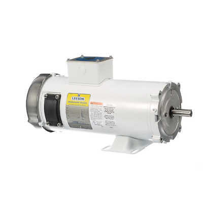 Leeson Electric Motor 108232.00 1.5 HP 1750 Rpm 180 Volt VDC DC 56C Frame