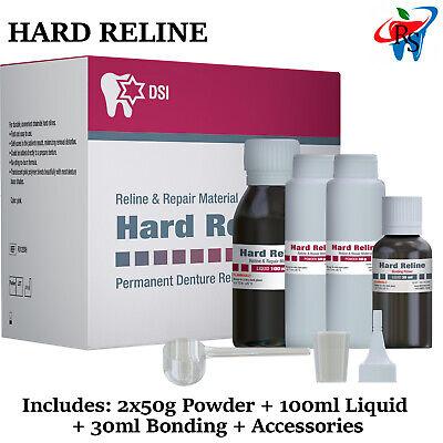 Dental Hard Liner Resin Self Cure Diy Denture Liner Permanent Material