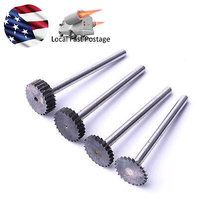 4pc Tungsten Steel Milling Cutter 1234mm Depth 12mm Dia T Slot End Mill Bit