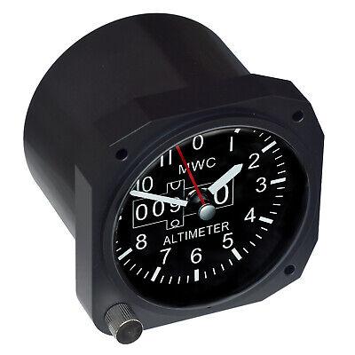 """Trintec 3.5/"""" Cessna Altimeter Desk Pen Set w//Alarm Clock CES-DS60 Great Gift"""