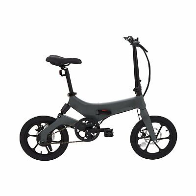 Elektrofahrräder E-Bike Hybrides Elektro Klapprad Gray 50Km