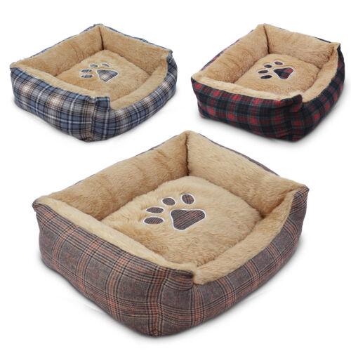 Hundebett Hundekorb Tierbett Hundesofa Hundekissen Tierkorb Hundedecke Bett Neu