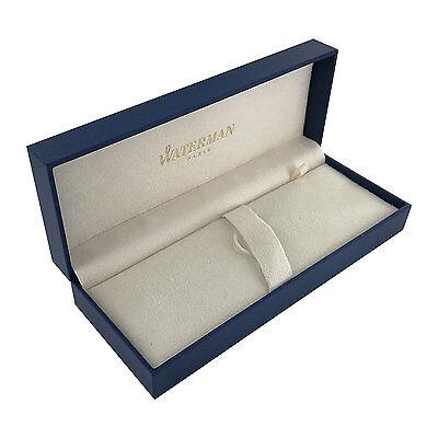 Waterman Empty Presentation Pen Pencil Blue Gift Box - New Version