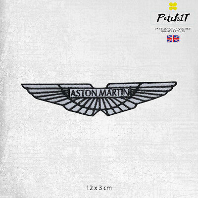 Aston Martin Car Brand Logo Patch Iron On Patch Sew On Badge Embroidered Patch