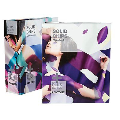 Pantone Soldi Chips Two-book Set Coated Uncoated Gp1606n - 2016 Version