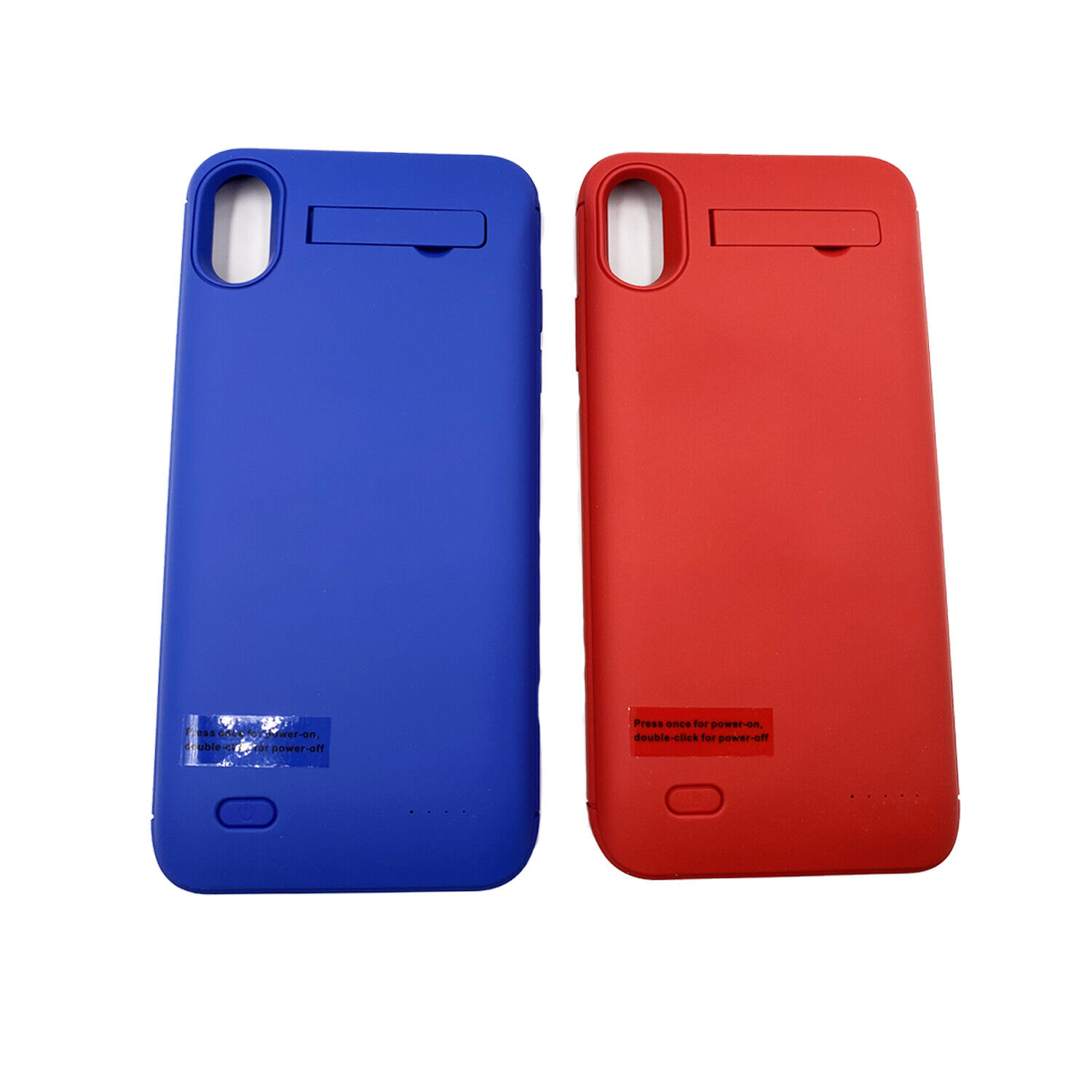 For iPhone X/XR/XS Max Battery Charging Case External Power Bank Backup Charger Cases, Covers & Skins