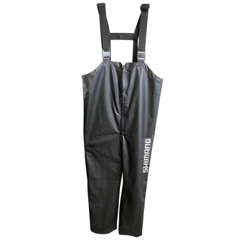 Shimano Fishing Pur Bib Color - Black Size - XL
