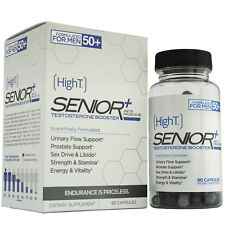 High T Senior Testosterone Booster Supplement, 90 Capsules (x2 45ct)