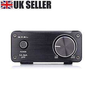 Digital TPA3118D2 Audio Amplifier SMSL SA-36A Pro 20W*2 Hi-Fi Class-T Amp Stereo