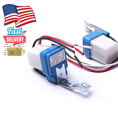 Details about  /BERM Photoelectric Switch 4‑Wire Detection Sensor 12-24VDC 2 Meter Power Cord