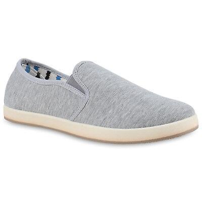 Sportliche Herren Slipper Slip-ons Sneakers Stoffschuhe Freizeit 814770 Schuhe Herren Schuhe Slip-ons
