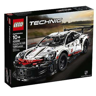NEW! 2019 LEGO Technic Porsche 911 RSR 42096 Building Kit (1580 Piece)