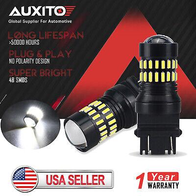 2X Auxito 3157 3156 4114 Turn Signal Blinker Corner Light Bulb for Ford