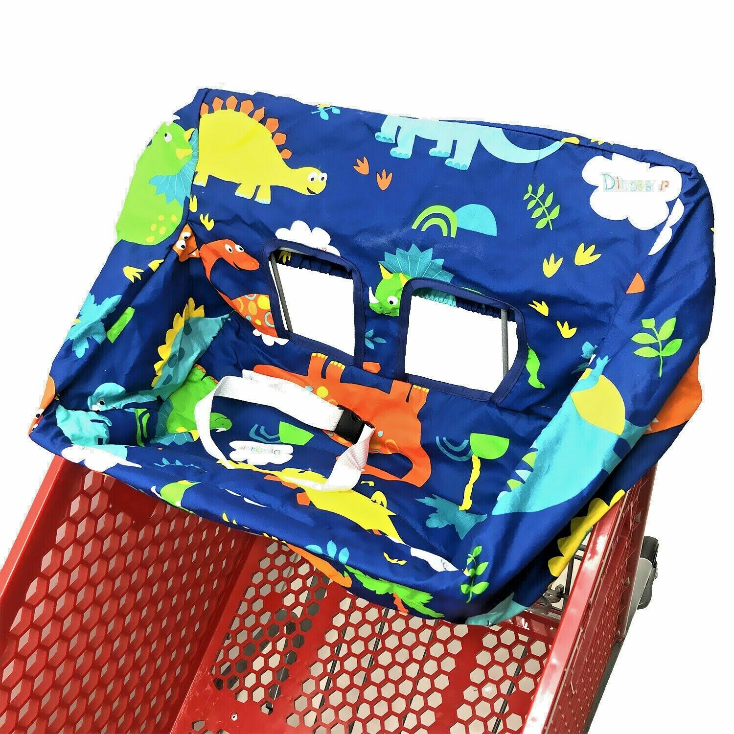 2-in-1 Shopping Cart Cover High Chair and Grocery Cart Cover