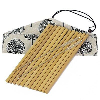 Set of 12 Bamboo Straws– 8