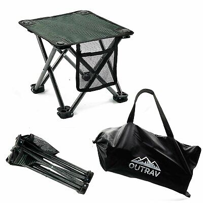 Outrav Camping Stool - Outdoor Travel Folding Small Chair -