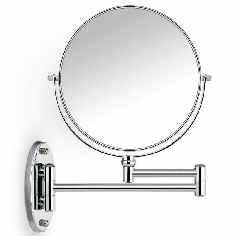 7X Magnifying Two Sided Vanity Makeup Mirror 8 inch Wall Mou