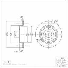 Disc Brake Rotor fits 2003-2011 Mercury Grand Marquis
