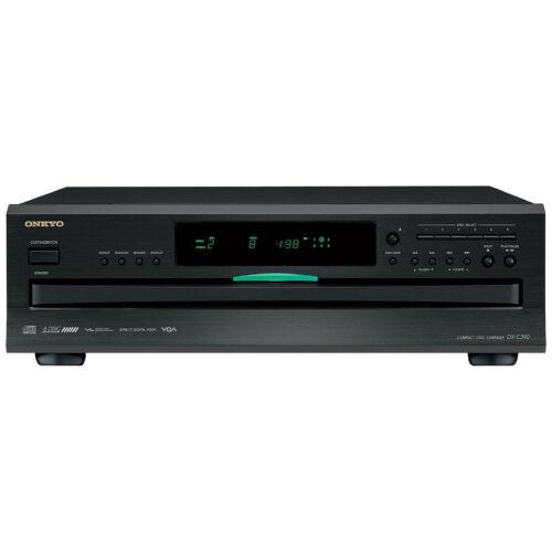 Onkyo 6-Disc CD Player Black DX-C390(B)