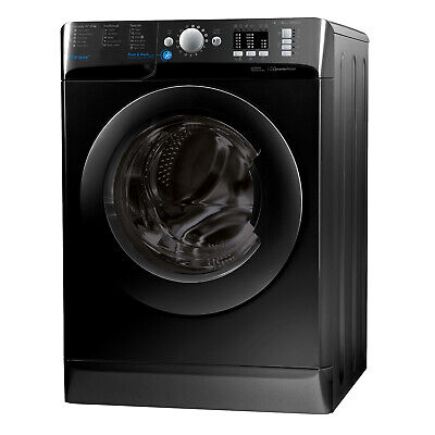 Indesit BWA81683XK Washing machine, 8 Kg Wash Load, 1600 RPM Spin Speed - Black