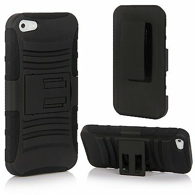 SGM Hybrid Combo Armor Protective Defender Case For Apple iPhone