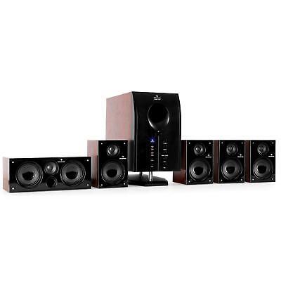 AKTIV 5.1 HEIMKINO LAUTSPRECHER ANLAGE BOXEN SET AUDIO SOUND SYSTEM PC TV HIFI
